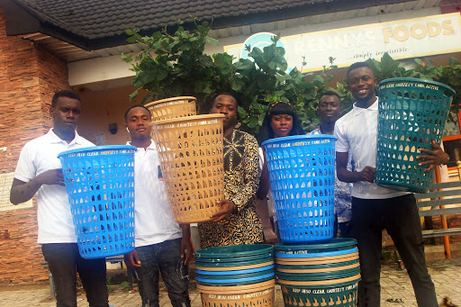 Student Group Donates Waste Bin Basket To IMSU, Promises Free-WIFI Setup And More