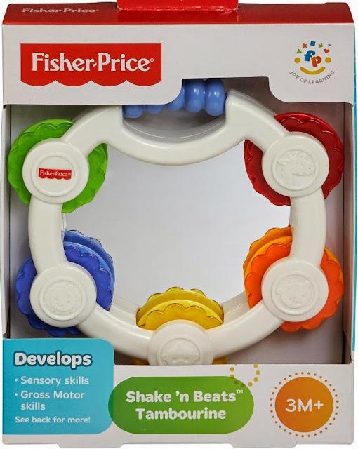 Trống lắc gương soi Fisher-Price BLT37 Tambourine