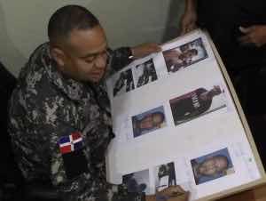 PN presenta banda de sicarios mató a una mujer y un hombre en Cotuí por 50 mil pesos.