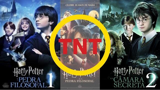 Começa agora na TNT Harry Potter e a Pedra Filosofal e na sequência Harry Potter e a Câmara Secreta
