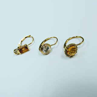 14 K Gold Lot of Single Earrings