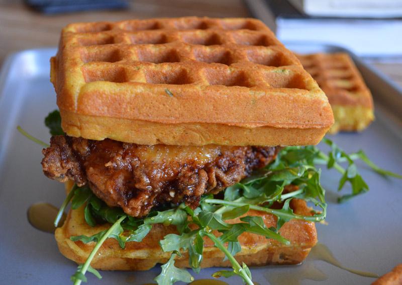 Hinh anh: Banh Sandwich Waffle