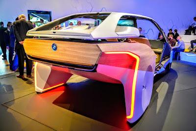 BMW driverless car