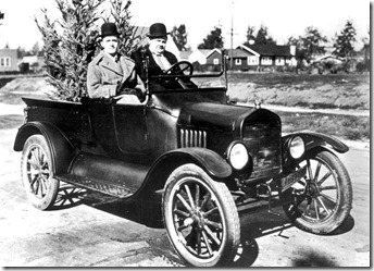 Ford T Laurel et Hardy