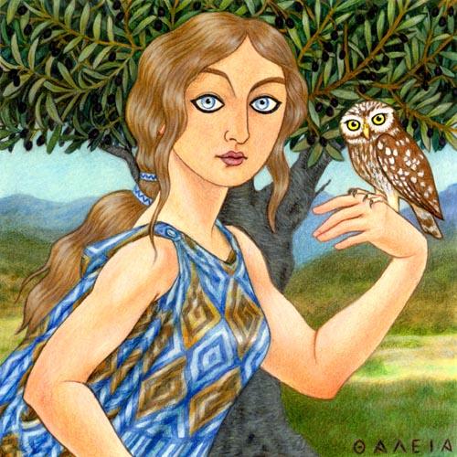 Athena Goddess Of Agriculture, Gods And Goddesses 1