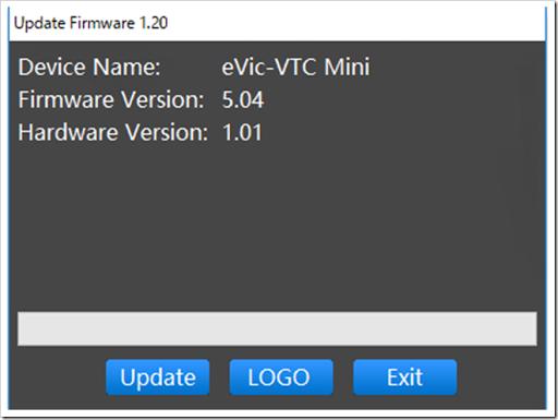 VTCMini thumb%25255B3%25255D.png - 【ファームウェア】Joyetech eVic VTwo/VTC Mini/AIO/eGrip II/Cuboid Mini/Cuboidなどの新ファームウェア5.04登場【予熱機能と新インターフェイス】