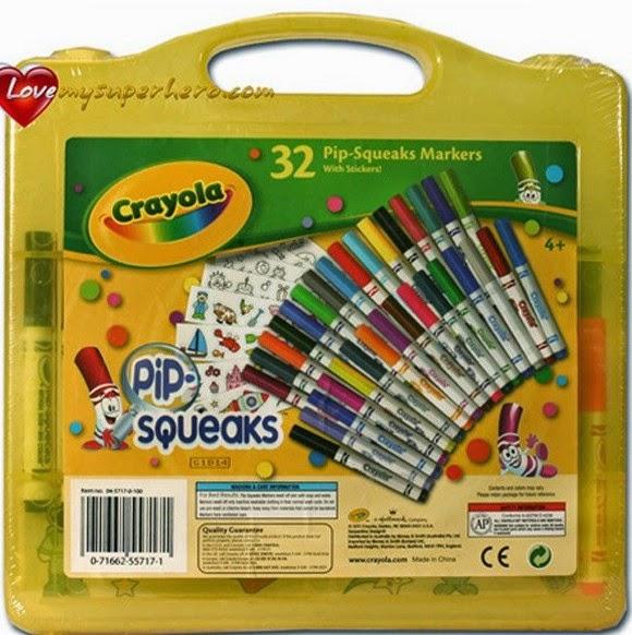 Vali nghệ thuật 32 bút lông mini kèm giấy vẽ với màu sắc khác cho bé lựa chọn