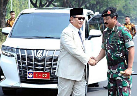 Panglima TNI Hadi Tjahjanto Mutasi 104 Pati, Dari AD Paling Banyak