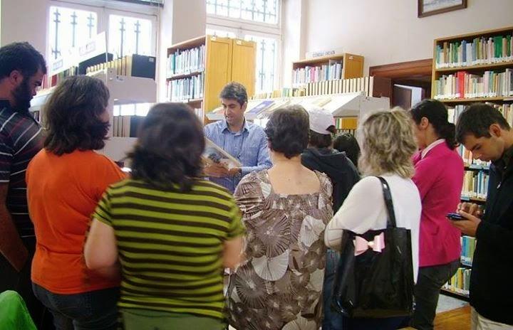 """Portas P'rà Vida"" visita Biblioteca de Lamego"