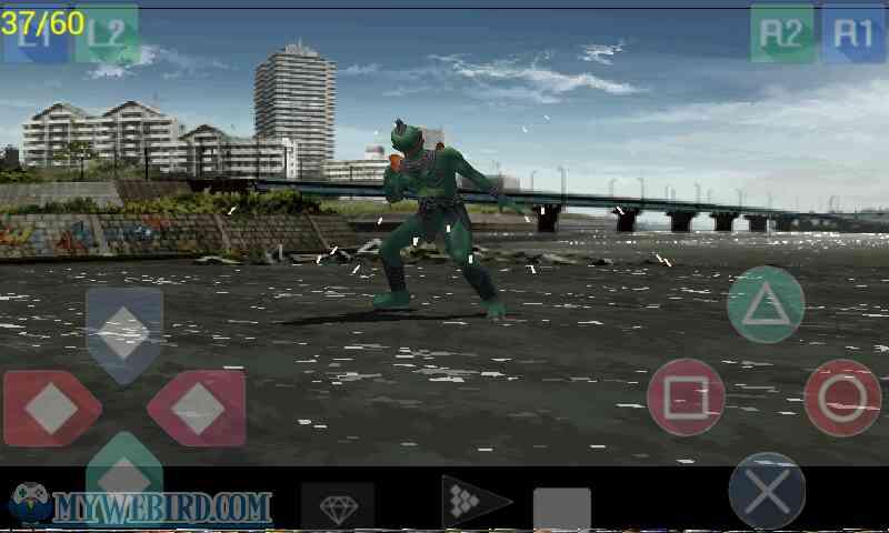 Kamen Rider Kuuga Gameplay