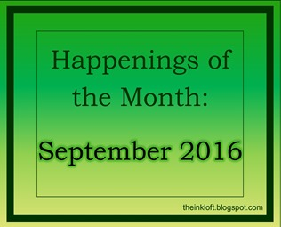 Happenings of the Month Sep 2016