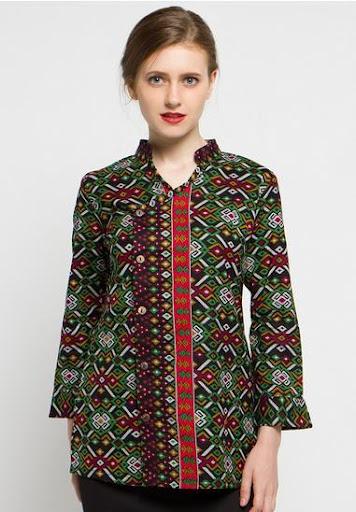 Download 300 Model Baju Batik Wanita Terbaru Google Play Softwares