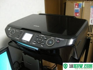 How to reset flashing lights for Epson PM-A840S printer