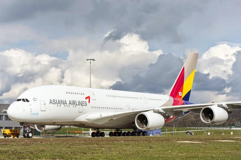 아시아나항공 A380