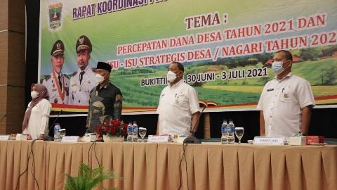 Pemanfaatan Dana Desa 2021 Dorong Pemulihan Ekonomi Nagari