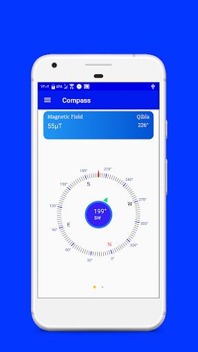 Digital Compass & Qibla Direction screenshot 1