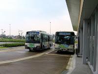 上越妙高駅前バス停 佐渡汽船のりば行