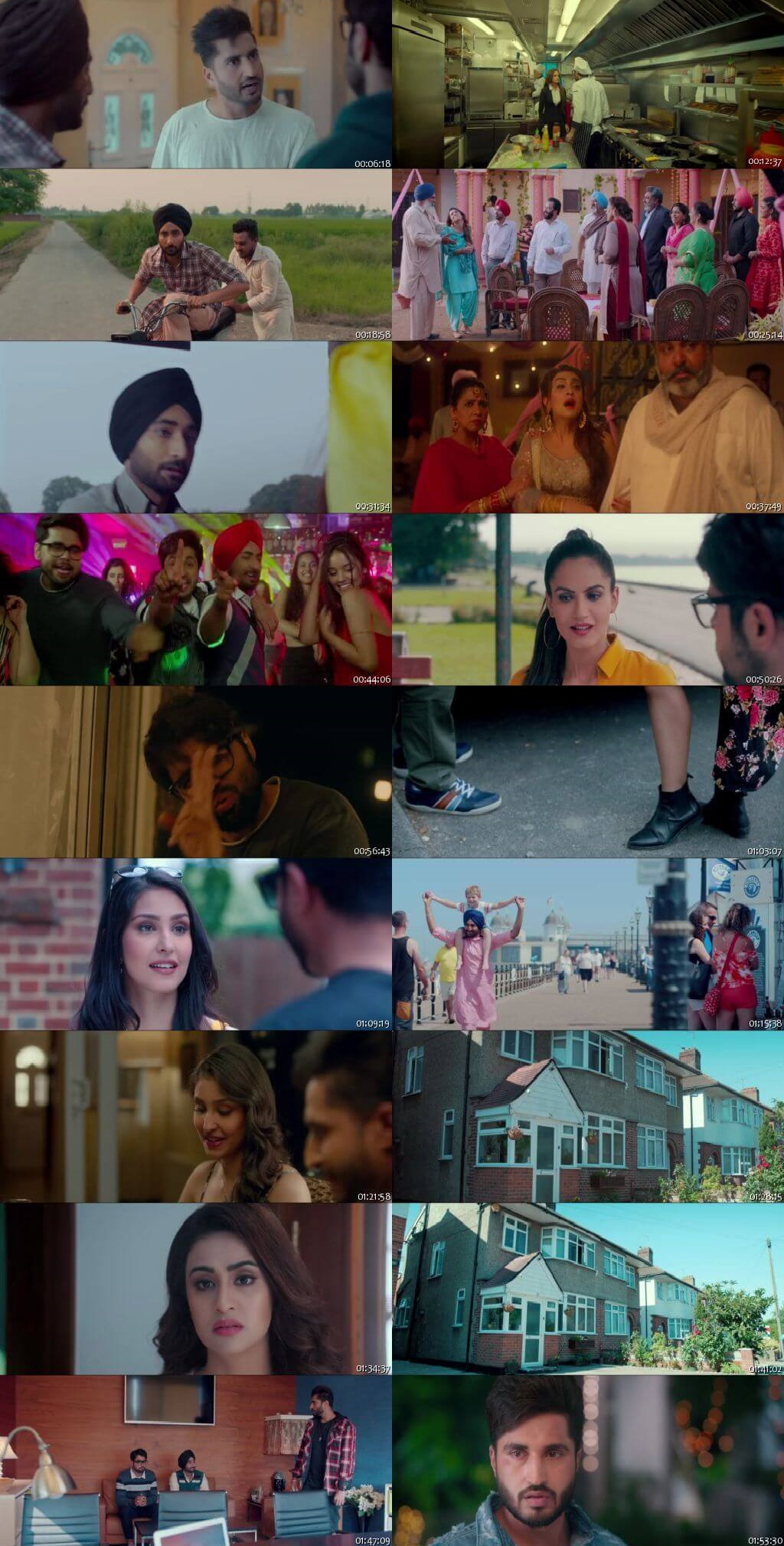 Screen Shot Of High End Yaariyaan 2019 300MB HDRip 480P Full Punjabi Movie Watch Online Free Download