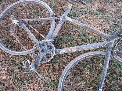 自転車にも付く