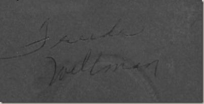 Frieda Wellman DL ant back
