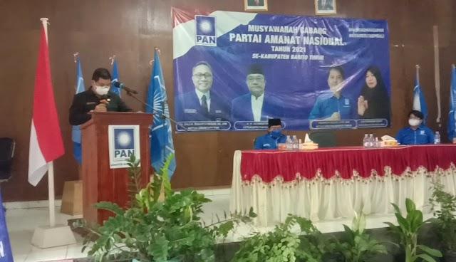 PAN Bartim Targetkan Raih Kursi DPRD di Setiap Dapil
