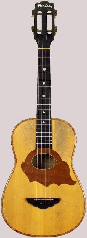Windsor bohemian made Long Scale Concert Ukulele