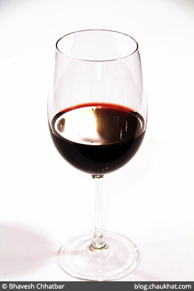 Red Wine at Dezio, Kalyani Nagar, Pune