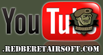 Kanał Redberet ASG na YouTube