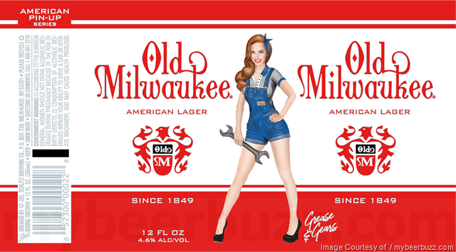Old Milwaukee, Old Milwaukee NA & Old Milwaukee Light Add New American Pin-Up Packaging