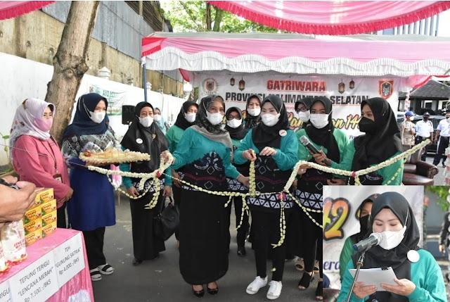 Gatriwara Kalsel Adakan Pasar Murah Ramadhan Sekaligus Bentuk Peringatan Hari Kartini