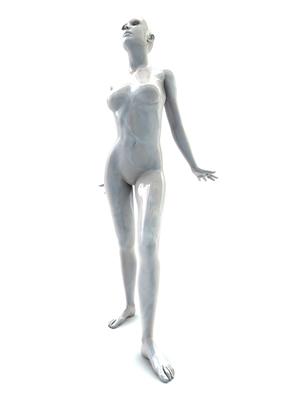 femme 3D pose artistique matiere nacre 3-04a