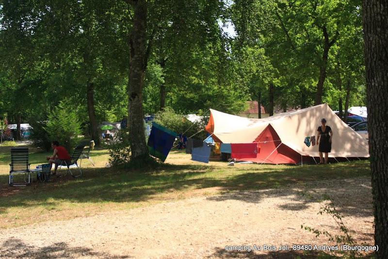 Carte Bourgogne Avec Camping.Le Camping Camping Au Bois Joli C Est Un Camping Vert