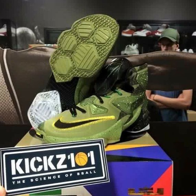 hot sales 02f8b a775a First Look at Militarized Nike LeBron 13 AllStar Game Edition Nike Lebron  XIII ...