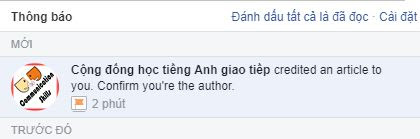 Confirm you're the author