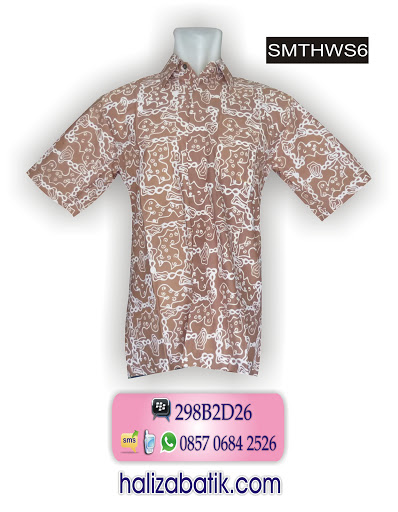 SMTHWS6 Baju Batik Terbaru, Bisnis Baju Batik, Toko Batik Online, SMTHWS6