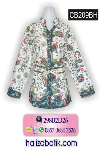 baju online murah, blus batik, model baju batik atasan