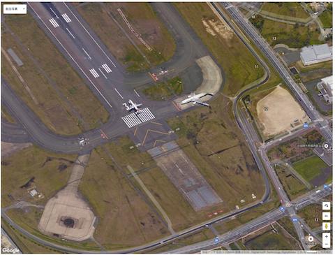 福岡空港ランウェイ34