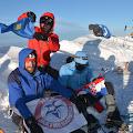 Pingvini na vrhu Mt. Blanca 4810m