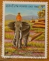 timbre Laos 009