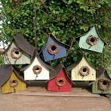 Стильные домики для птиц