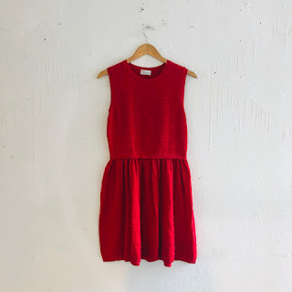 Red Valentino Sweater Dress