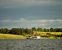 Stort skib ved Vellerup Vig