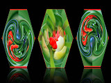 """Abstract Vases"" by Barbara Lippert -- 3d Place Special A"