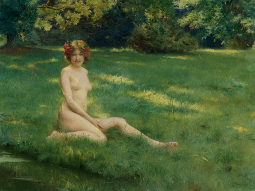 Julius LeBlanc Stewart - Nude Woman