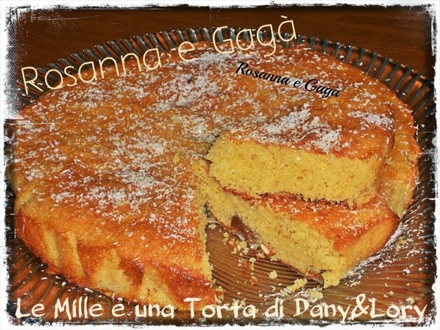 torta di ciliegie con farina di cocco