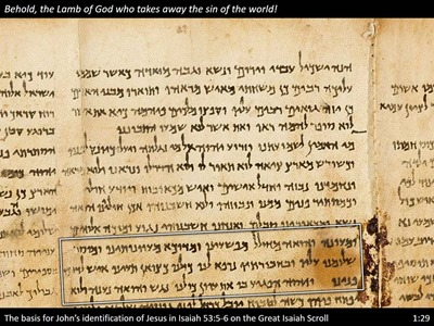 Isaiah-53-allusion-John1-great-isaiah-scroll