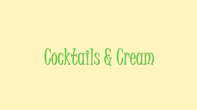Cocktails and Cream on The Beautystand