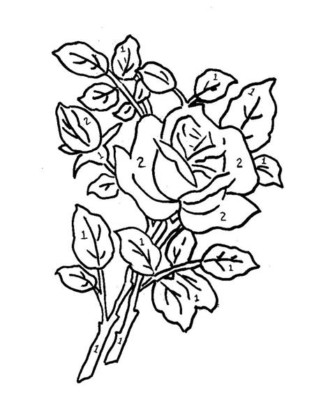 Dibujos de flores para pintura en tela imagui - Dibujos infantiles para pintar en tela ...