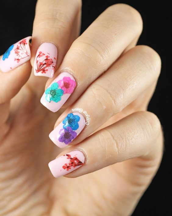 30 Stunning Diy 3d Nail Designs For Beginners Of 2019: Top Nail Art Designs For Spring 2018