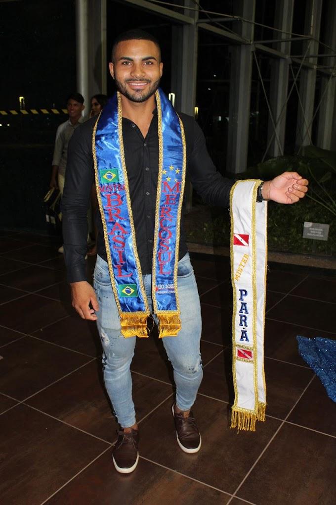 Paraense é o novo Mister Brasil MercoSul